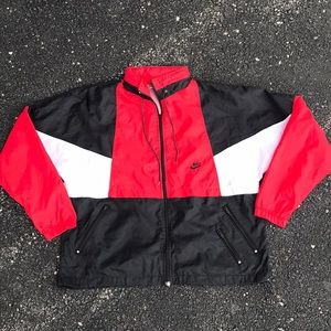 Vintage Nike windbreaker large color block 90s